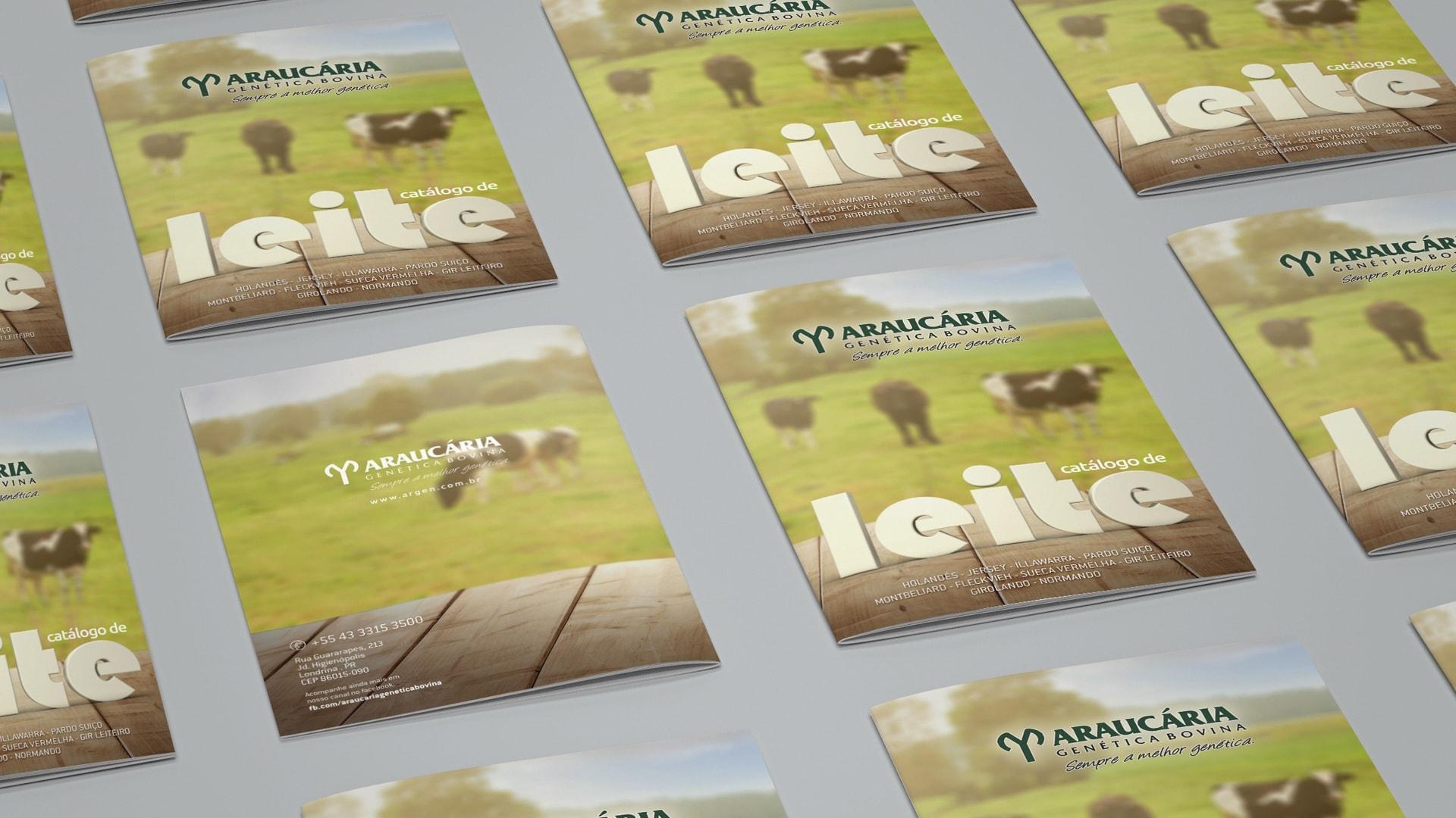 Lançamento do catálogo de leite