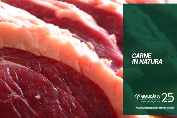 Carne in natura: exportação média diária sobe 29% em julho