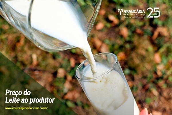 Preço do leite ao produtor