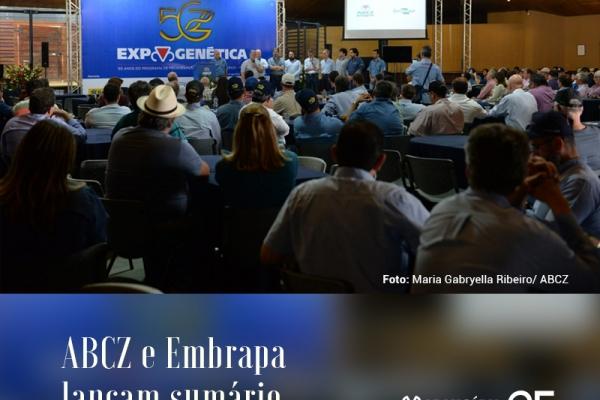 ABCZ e Embrapa lançam sumário integrado de touros