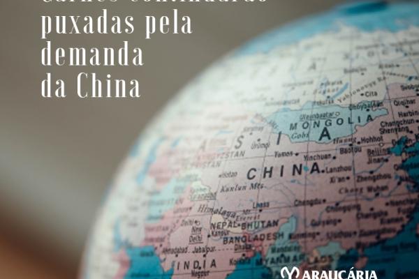 Mercado do boi em 2020 deverá ser tão forte quanto o final de 2019, prevê Rabobank Na Reuters: China impulsiona exportação e produção de carnes do Brasil em 2020, diz Rabobank