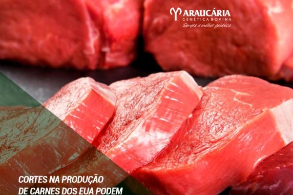 Cortes na produção de carnes dos EUA podem favorecer vendas do Brasil à China