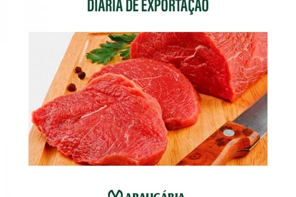 Carne bovina: média diária exportada cresceu 39,2% em maio, na comparação anual